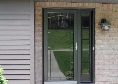 591-Z Decorator storm door