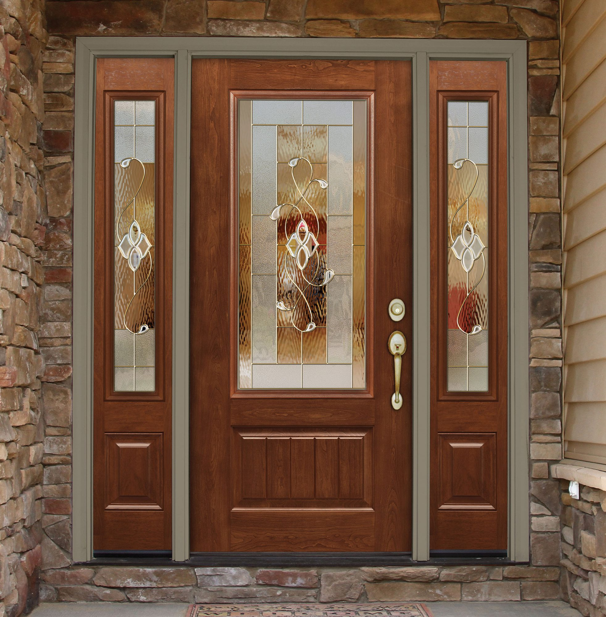 entry door with sidelites knoxville tn image
